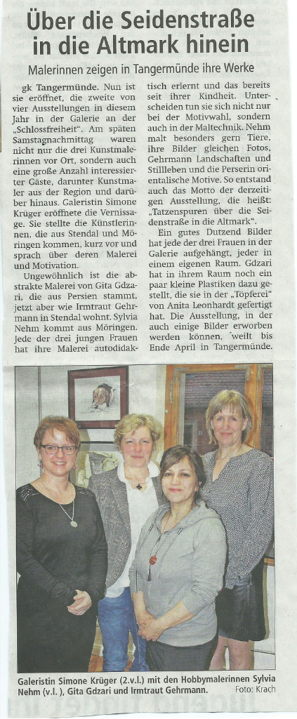 Pressetext - Vernissage